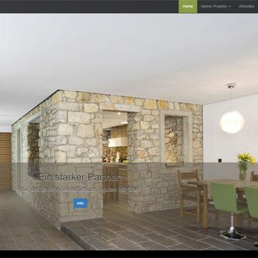 Homepage für Architektursbüro erstellen lassen