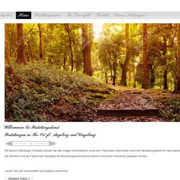 Homepage für Bestattungsunternehmen erstellen lassen