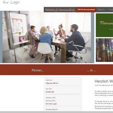 Webdesign für Gewerbeverband erstellen lassen