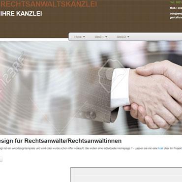 Webdesign für Rechtanwalt erstellen lassen